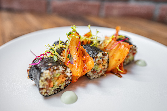 Nori závitky s quinoou - Spojka Karlín