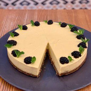 tvarohový veganský dort spojka karlín