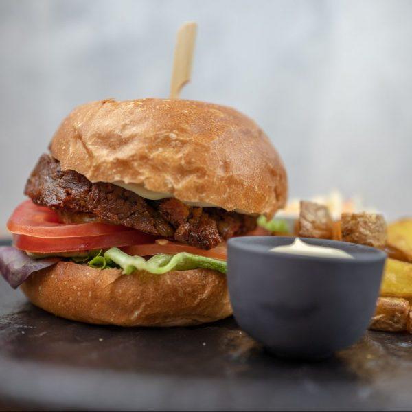 Čočkový burger
