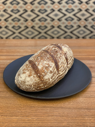 pšenično-žitný kávskový chléb 750g
